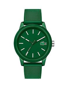 lacoste-lacoste-1212-green-and-white-detail-dial-green-fabric-strap-mens-watch
