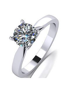 moissanite-platinum-1ct-moissanite-solitaire-ring