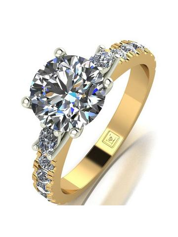 18ct Yellow Gold Engagement Rings Rings Gifts Jewellery