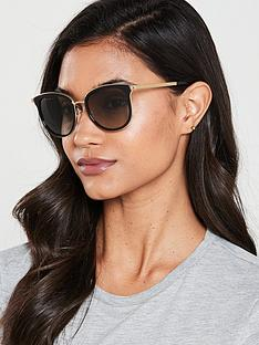 michael-kors-oval-sunglasses-blackgold