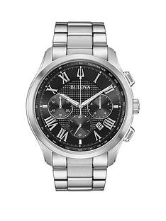 bulova-black-chronograph-dial-stainless-steel-bracelet-mens-watch