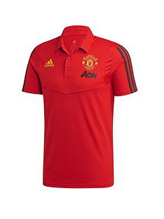 adidas-manchester-united-polo-red