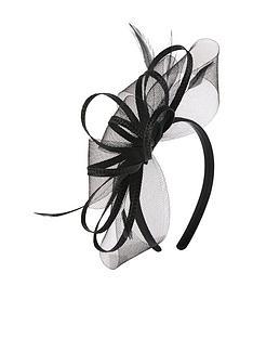 accessorize-braid-amp-crin-loops-fascinator-ndash-black