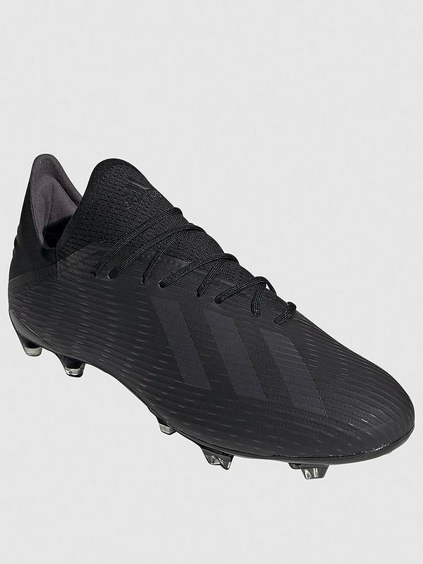 tiendas populares bien conocido Cantidad limitada adidas X 19.2 Firm Ground Football Boot - Black ...