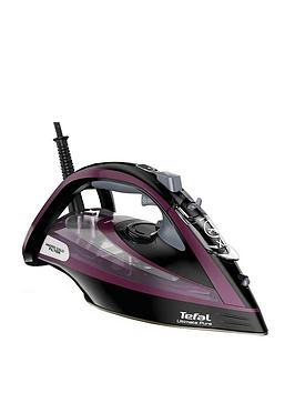 tefal-fv9830-ultimate-purenbspsteam-iron--nbspblack-andnbsppurple