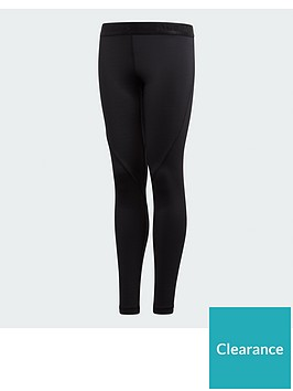 adidas-junior-baselayer-tights-black