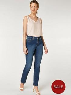 wallis-petite-harper-straight-jean