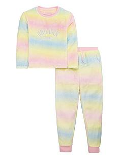 v-by-very-girls-rainbow-ombre-unicorn-squad-lounge-set-multi