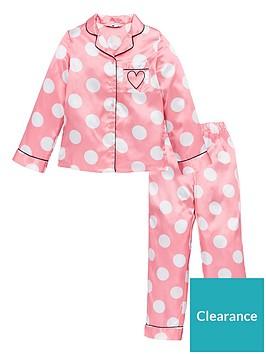 v-by-very-girls-pink-polka-dot-satin-pyjamas-pink
