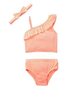 river-island-mini-mini-girls-rib-bow-tankini-and-headband-coral
