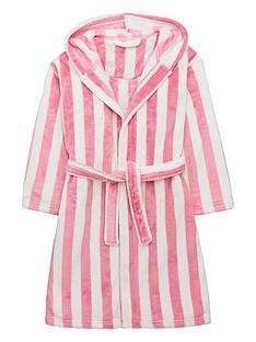 v-by-very-girls-supersoft-striped-dressing-gown-pink