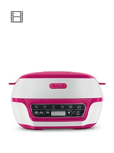 tefal-cake-factory-precision-baking-machine-with-silicone-moulds-for-bread-making-cakes-and-desserts-white-and-pink