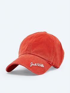 jack-wills-loscoe-signature-graphic-cap-red