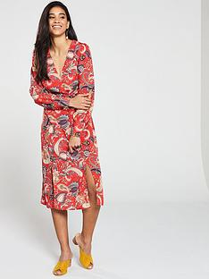v-by-very-double-button-wrap-midi-dress