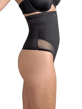 miraclesuit-sexy-sheer-shaping-hi-waist-thong-black