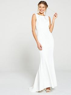 jarlo-jarlo-cecelia-lace-back-fish-tail-maxi-dress