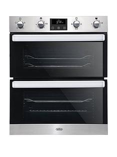 belling-bel-bi702fp-70cm-built-in-electric-double-oven-stainless-steel