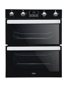 belling-bel-bi702fpct-70cm-built-in-electric-double-oven-with-bluetooth-connectivity-black