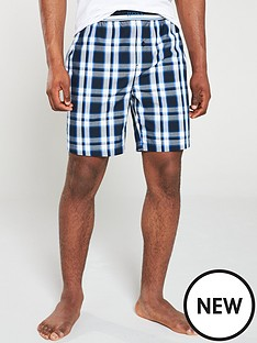 boss-urban-check-lounge-short