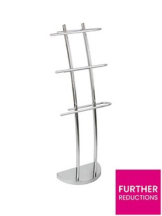lloyd-pascal-chrome-3-arm-towel-stand
