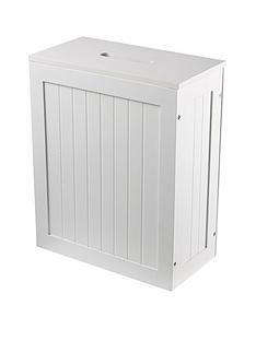 lloyd-pascal-portland-slimline-storage-unit-white