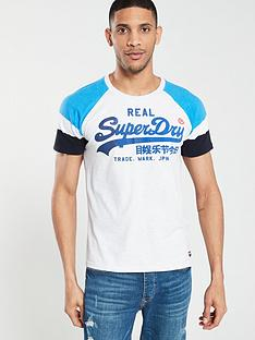 superdry-vintage-logo-1st-raglan-short-sleeve-t-shirt-royal-marl
