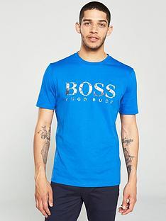 boss-large-logo-t-shirt-blue