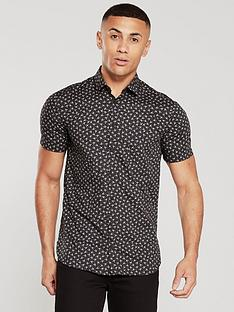 boss-scorpion-print-short-sleeved-shirt-black