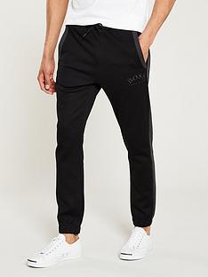 boss-hadiko-cuffed-sweat-pants-black