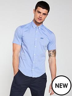 boss-biadia-short-sleeved-stretch-shirt-blue