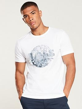 boss-graphic-print-t-shirt-white