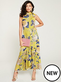 whistles-exotic-floral-peria-dress-yellowmulti