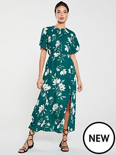 v-by-very-kimono-sleeve-midi-dress-floral-print
