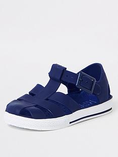 river-island-mini-mini-boys-jelly-sandals-navy