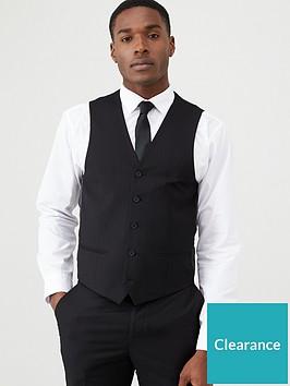 very-man-stretch-suitnbspwaistcoat-black