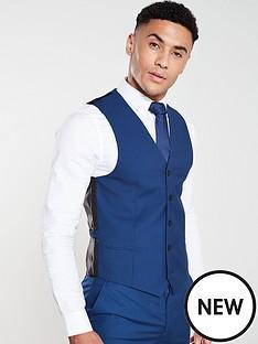 v-by-very-pv-stretch-waistcoat-blue