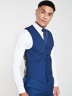 v-by-very-suitnbspwaistcoat-blue
