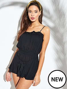 river-island-river-island-square-neck-beach-playsuit-black