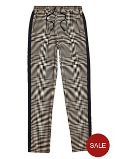 river-island-boys-check-tape-side-trousers-brown