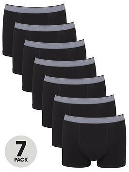 v-by-very-seven-pack-trunks-black