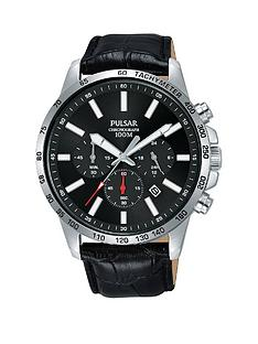 pulsar-pulsar-black-and-red-detail-chronograph-dial-black-leather-strap-mens-watch