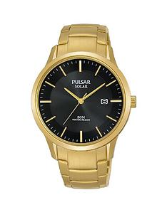 pulsar-pulsar-solar-black-date-dial-gold-stainless-steel-bracelet-mens-watch