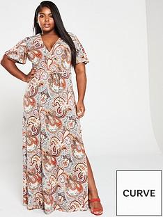 v-by-very-curve-wrap-maxi-dress-paisley-print