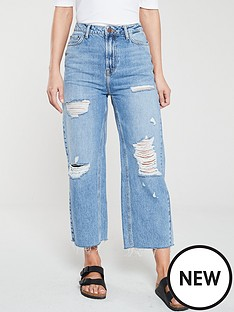 v-by-very-distressed-crop-wide-leg-jeans-mid-wash