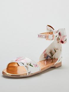 8f03ea982d15b4 Baker by Ted Baker Girls Harmony Print Sandals - Multi