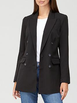 v-by-very-the-longline-double-breasted-blazer-black