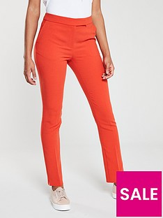 v-by-very-tapered-leg-trouser-orange