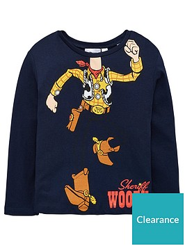 toy-story-boys-sheriff-woody-long-sleeved-top-navy