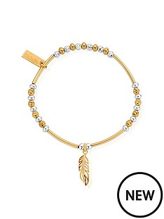 chlobo-chlobo-gold-plated-sterling-silver-filigree-feather-bracelet