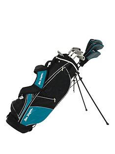 ben-sayers-m8-8-club-package-set-turquoise-stand-bag-full-graphite-set-ladiesyouth